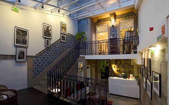 Gallery Hostel no Porto Portugal