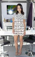 Jordana Brewster hot in mini dress