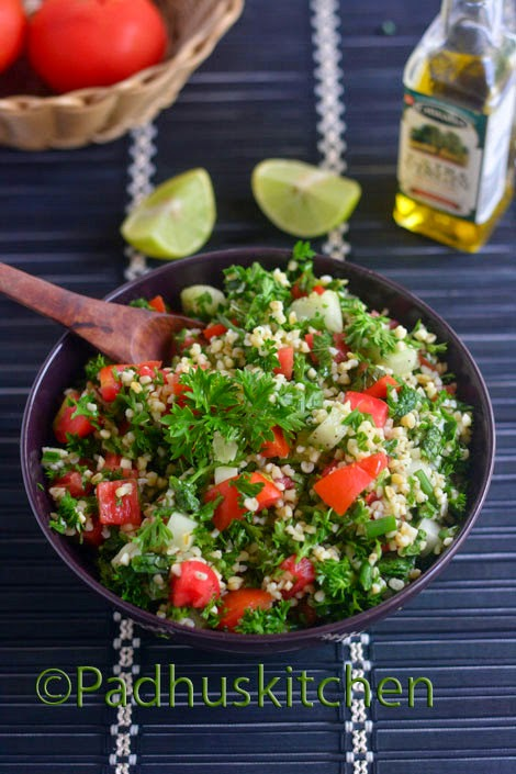 Tabbouleh Salad Recipe-Tabbouleh Bulgur Recipe
