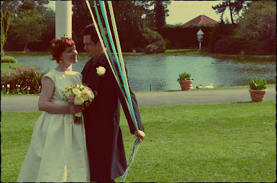 Maypole Wedding Picture