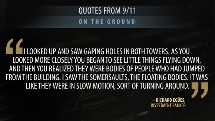 September 11 Quotes from Victims