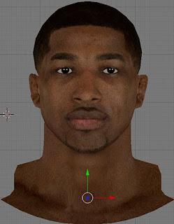 NBA 2K13 Tristan Thompson Cyberface Patch