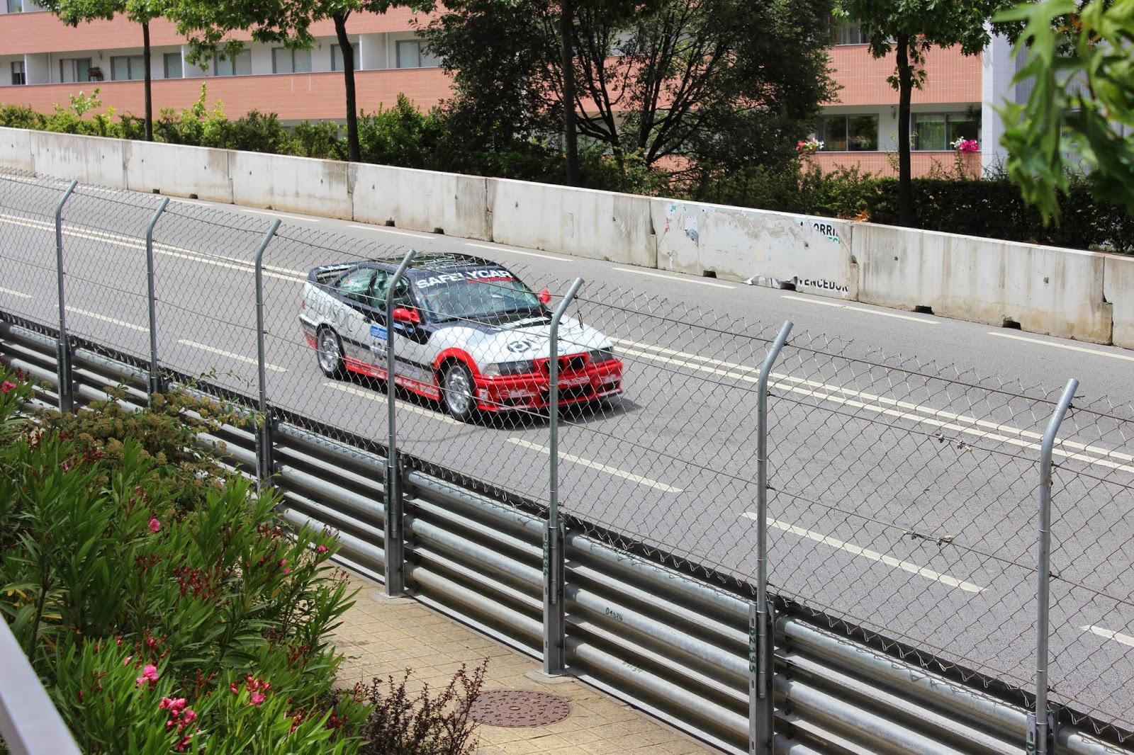 Circuito Vila Real : Chicane circuito de vila real regresso do citadino de