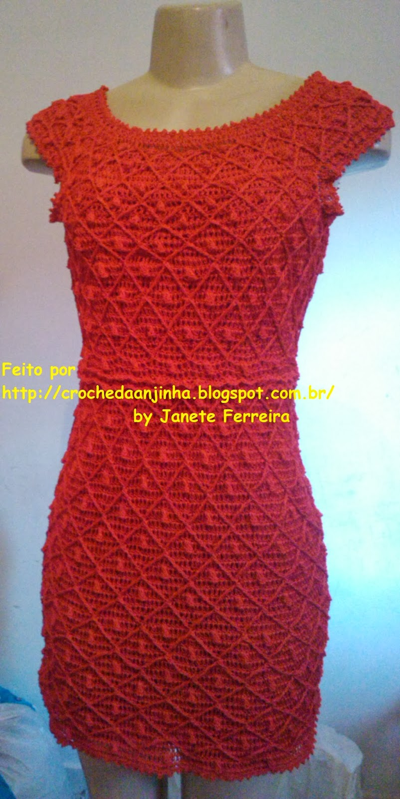 Вязание платья леонора