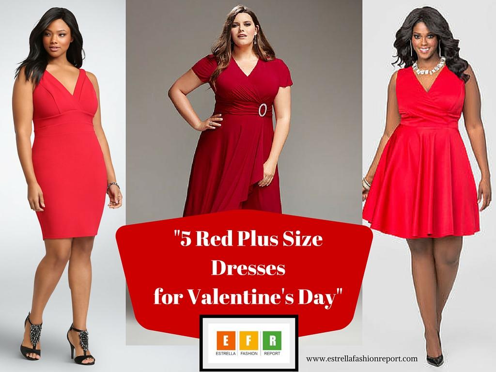 Valentine s day plus size dresses