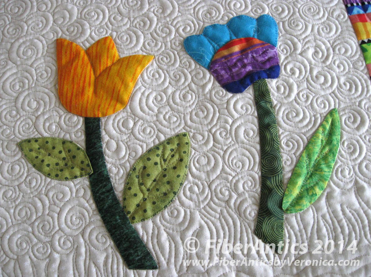 applique flower class