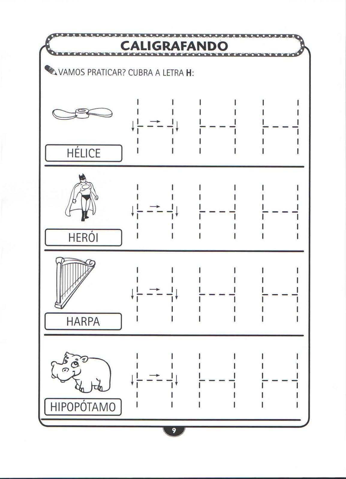 atividades para educa o infantil atividades para educa o infantil caligrafando. Black Bedroom Furniture Sets. Home Design Ideas