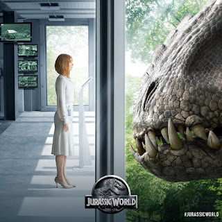 Indominus Rex Jurassic World poster wallpaper image screensaver picture