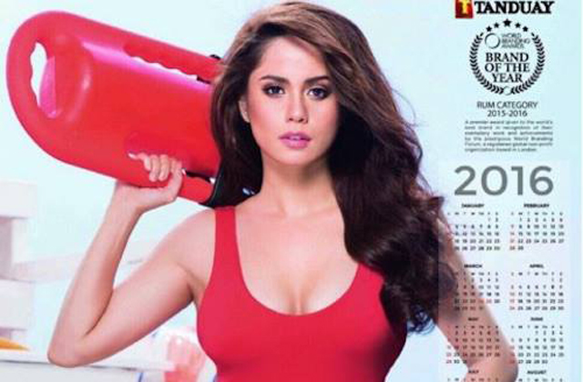 Jessy Mendiola rocks as new Tanduay calendar girl 2016