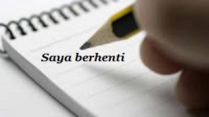 Contoh Surat Pengunduran Diri Kerja Yang Baik Dalam Bahasa Indonesia