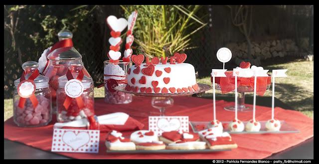 Blog mi boda mayo 2012 for Decorar mesa san valentin
