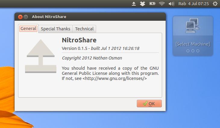 Nitroshare: Mudah transfer file antar komputer