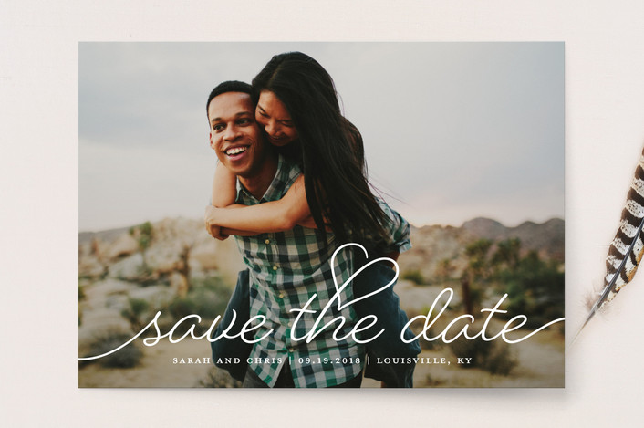 save the date cards for Minted