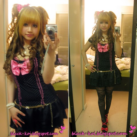 PinkxBlackxBow Rockz♥