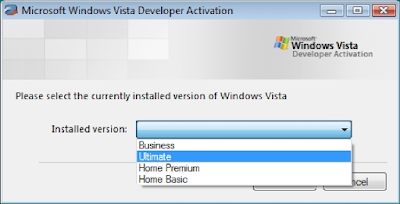 ATIVADOR DE TODAS AS VERSÕES DO WINDOWS VISTA