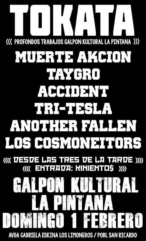 LA PINTANA: TOKATA PROFONDOS TRABAJOS GALPON KULTURAL LA PINTANA