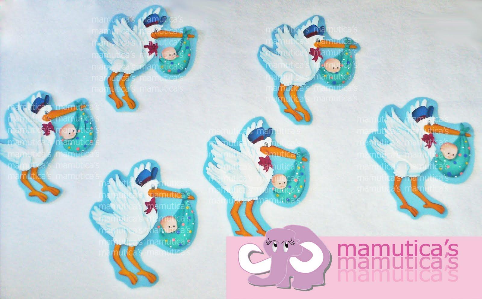 Mamutica's: Baby Shower de Cigüeñas