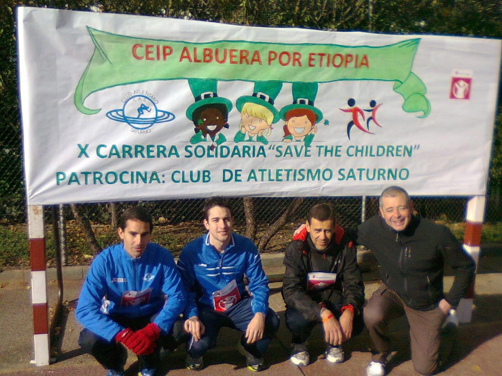 Carrera Solidaria Colegio Albuera