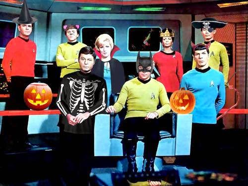 Halloween on The USS Enterprise