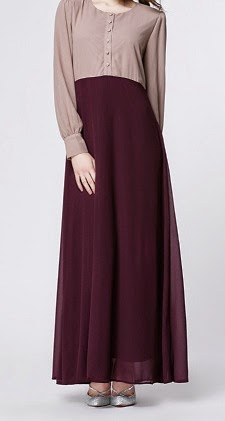 NBH0315 GHAZIAH MAXI DRESS