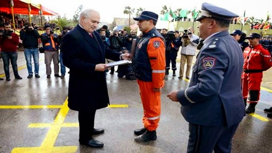 """تخرج عدة دفعات للحماية المدنية من مختلف الرتب تحت اسم صديق الجزائر """"روني فوتيه"""""""