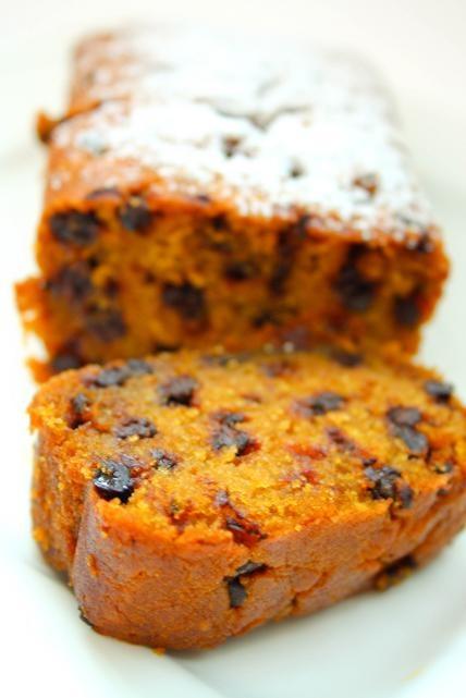 Pumpkin chocolate chip bread | Cook'n is Fun - Food ...