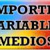 Media de importes variables del curso 2013/2014 por ramas de estudios.
