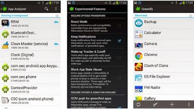 Greenify Aplikasi Terbaik Android Untuk Menghemat Baterai Dan Melegakan RAM
