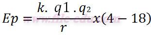 Persamaan energi potensial di suatu titik
