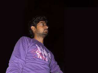 Arun at night view in Goa