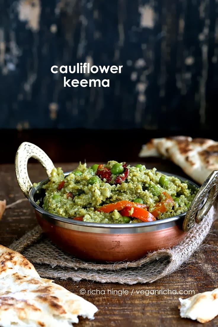 http://www.veganricha.com/2014/02/gobi-mutter-keema-minced-cauliflower.html