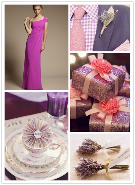 Lavender Theme Wedding Match Ideas 02