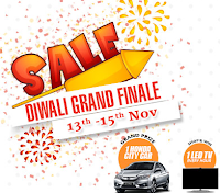 Homeshop18: Last 3 days Grand Diwali offer on13th – 15th Nov