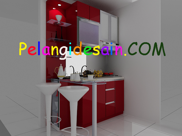 Kitchenset pelangi desain interior promo kitchen set meja for Paket kitchen set murah