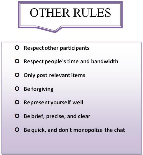 etiquette refers to the rules that