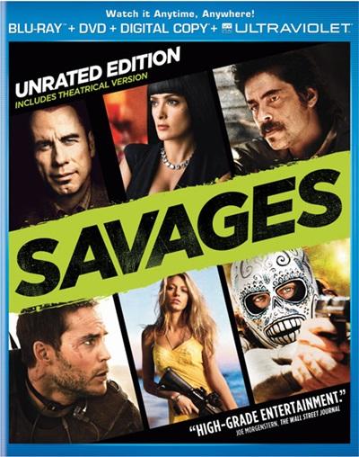 Savages 720p HD Español Latino Dual BRRip 2012