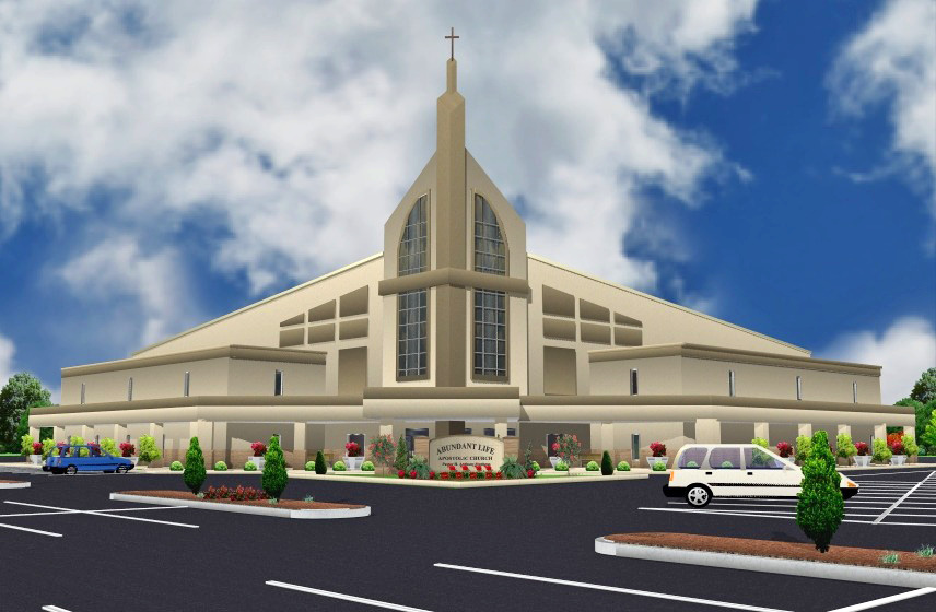 Building for eternity church design in three dimensions Oh design
