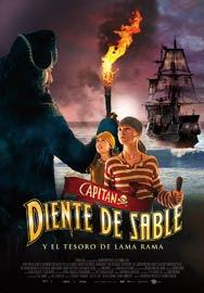 pelicula Capitán Diente de Sable y el tesoro de Lama Rama (2014)