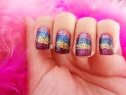 Ideias de Unhas Decoradas com Glitter