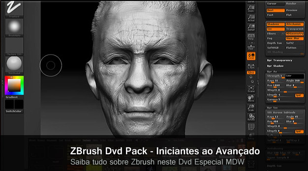 CLICK AQUI  Curso ZBrush Total 2013 Zbrush Pack DVD  64765 zoom