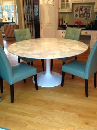 Tulip Marble Table 60 Inch 800 Andover