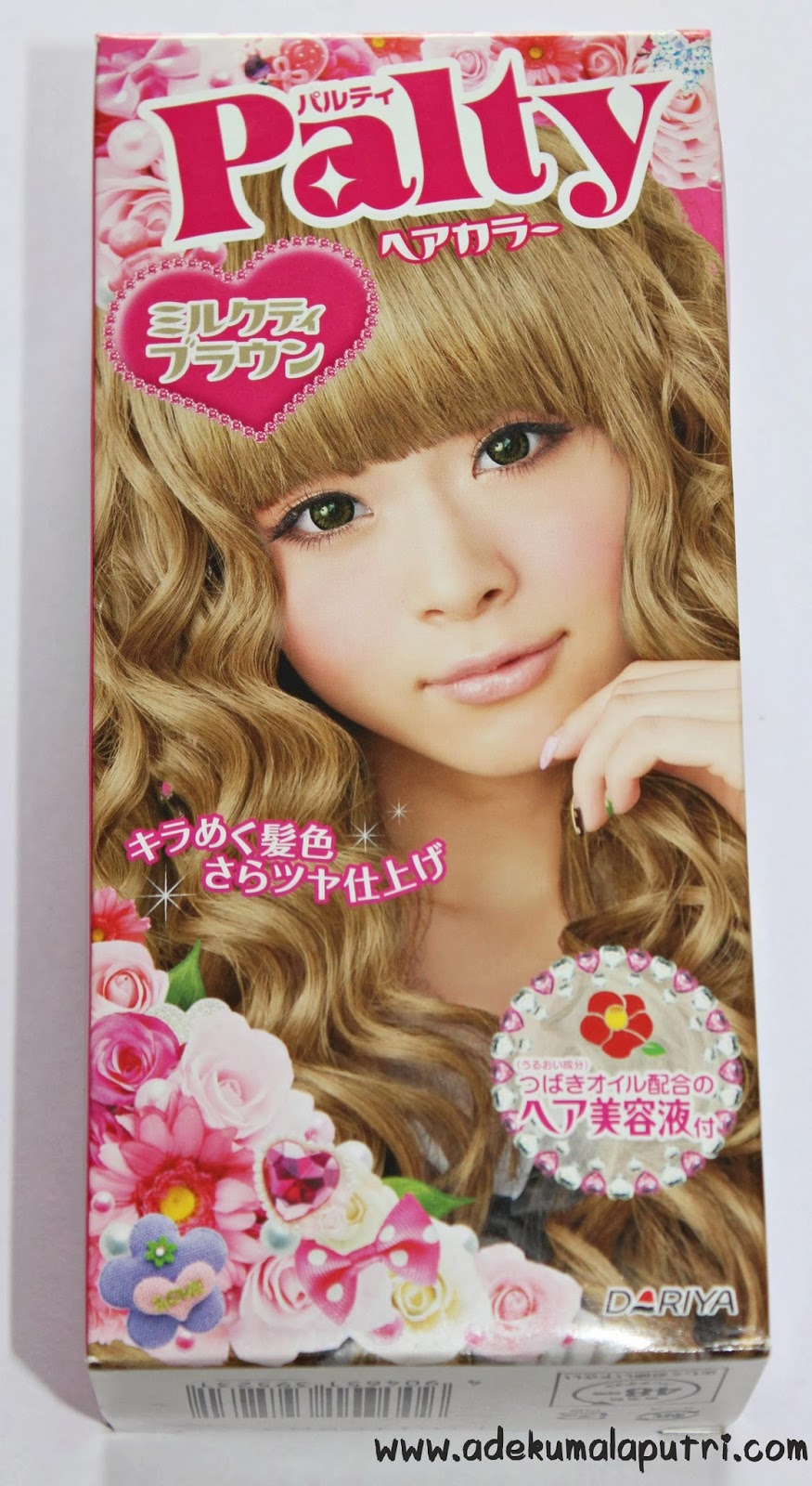 Lalas wonderland beauty blogger indonesia review dariya palty hair dye colors hair with a moist shiny and silky finish the hair color contains camellia oil for moisture silicone for smoothness and botanical nvjuhfo Choice Image