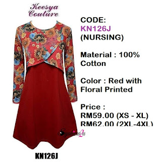 T-shirt-Muslimah-Keesya-KN126J