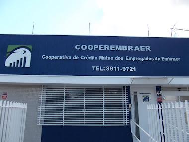 LETREIROS EM LETRAS CAIXA FACHADAS COOPERATIVA EMBRAER  SÃO JOSÉ DOS CAMPOS-SÃO PAULO