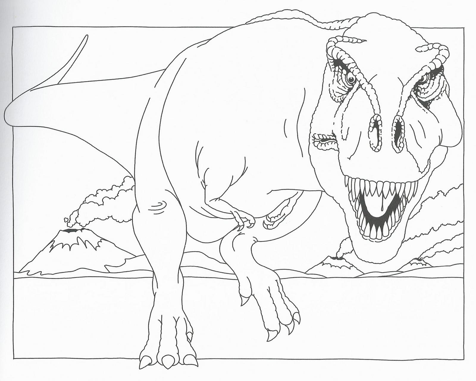 disegni da colorare disegni da colorare i dinosauri