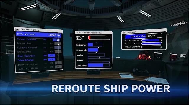 Pulsar Lost Colony Ship Power