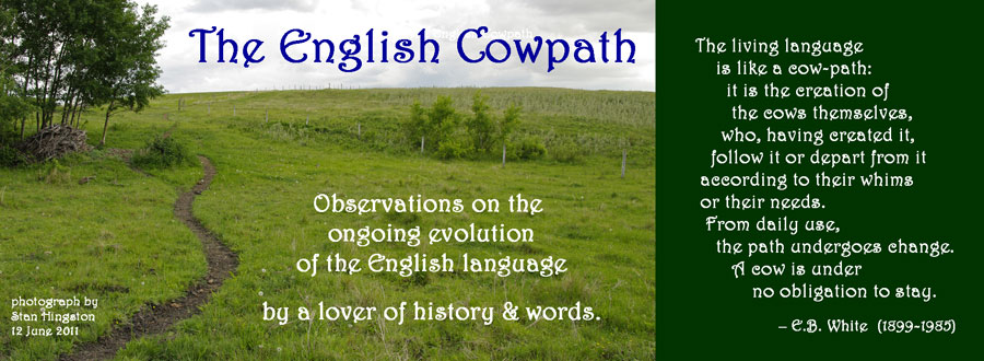 The English Cowpath