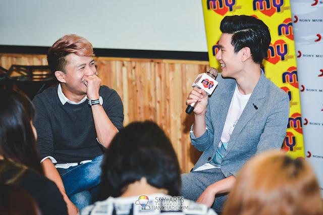 Eric Chou 周興哲 《學著愛》之馬來西亞行 #Eric周興哲 MYFMJym Chong 庄靖毅和在笑什麼呢??
