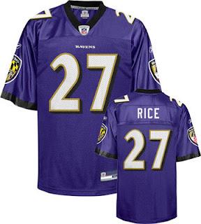 Ray Rice Baltimore Ravens Jersey