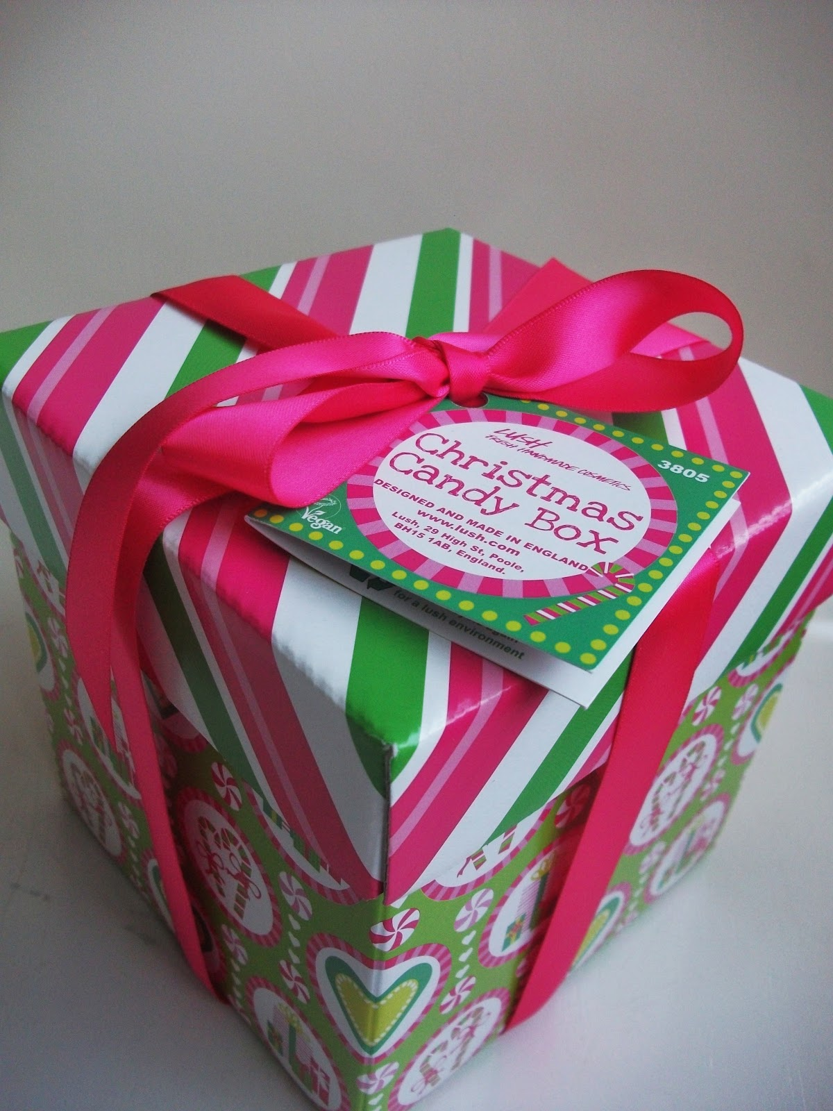 Glitter and sparkle the lush christmas candy box